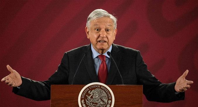 Presidente mexicano Andrés López Obrador testa positivo para covid-19
