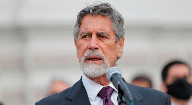 Eleições para substituir Francisco Sagasti, no Peru estão convocadas para 11 de abril