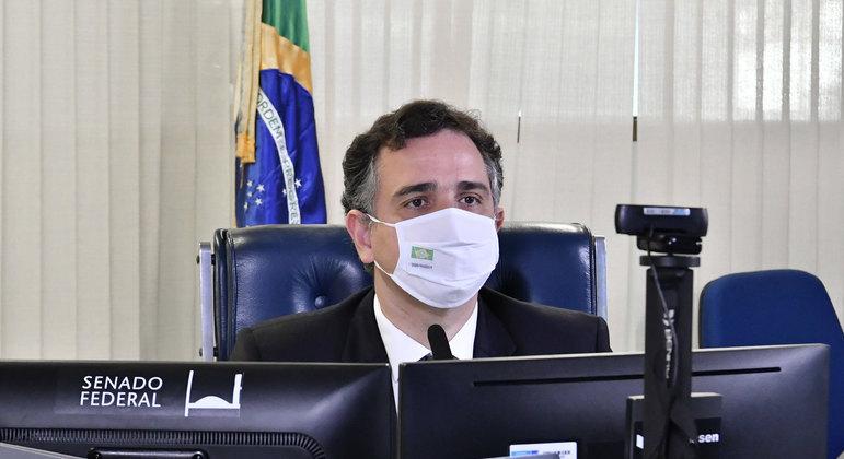 Segundo Pacheco, Congresso reconhece a necessidade de diminuir o tamanho do Estado brasileiro