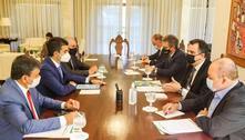 Governadores e Pacheco discutem economia e crise entre os Poderes