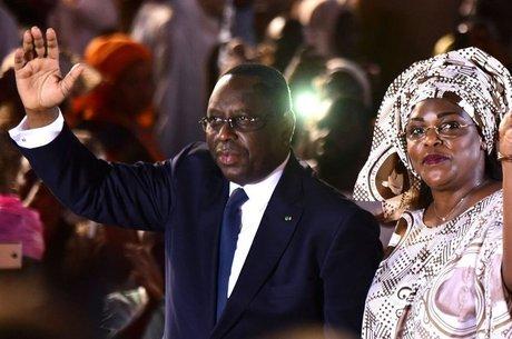 Primera-dama do Senegal, Marieme Faye Sall, deu suporte financeiro à família