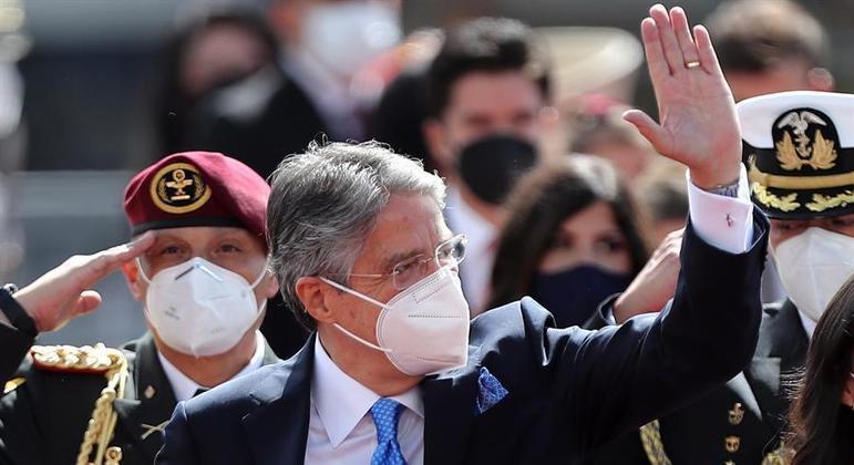 Guillermo Lasso ocupará a presidência do Equador por quatro anos