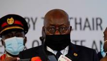 Presidente de Gana recebe 1ª dose de vacina anticovid do Covax
