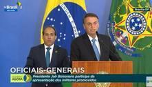 Apoio ao presidente está na mão das Forças Armadas, diz Bolsonaro
