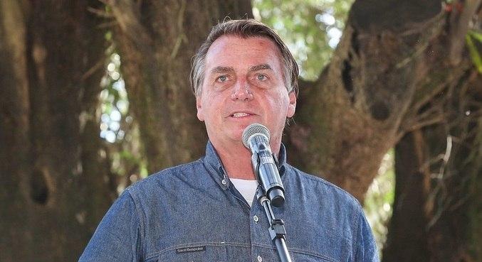 O presidente Jair Bolsonaro, que prometeu vetar aumento do fundo eleitoral