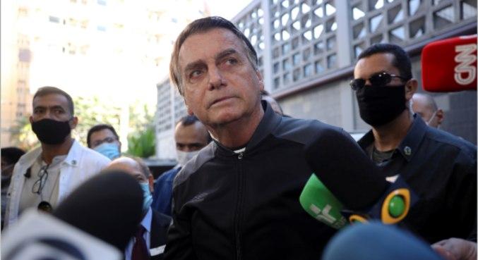 Presidente Jair Bolsonaro, que parabenizou novo presidente do Peru