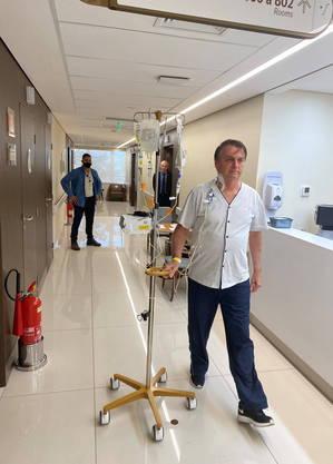 Bolsonaro foi internado na última quarta-feira com obstrução intestinal
