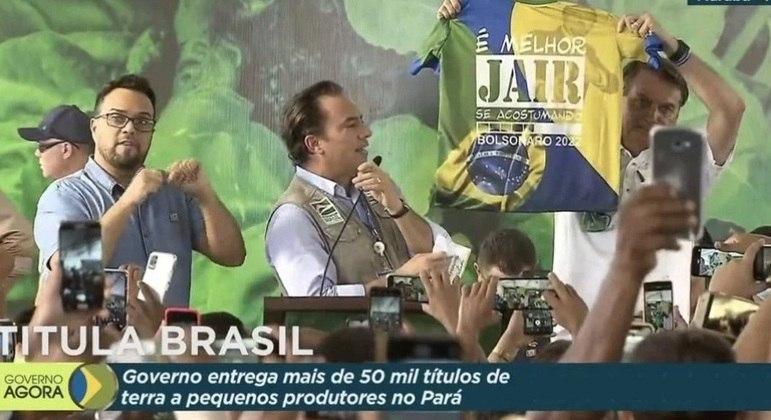 Presidente Jair Bolsonaro campanha antecipada