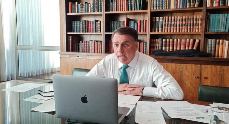 Presidente Jair Bolsonaro disse que seu governo não atrapalha quem produz