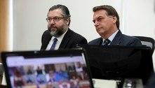 Bolsonaro descarta substituir chanceler Ernesto Araújo