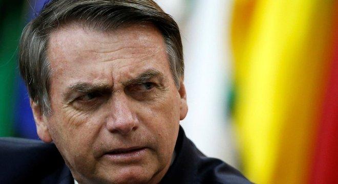 Bolsonaro tem sido criticado por sua política ambiental
