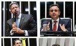 Os membros da Mesa Diretora da Câmara dos Deputados e do Senado Federal foram eleitos em 1º de fevereiro para o biênio 2021/2022, com Arthur Lira (PP-AL) e Rodrigo Pacheco (DEM-MG), respectivamente, no comando das presidências. Conheça, a seguir, os demais membros da composição diretora das Casas Legislativas e de algumas comissões
