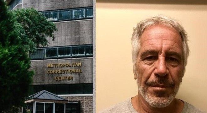 Epstein foi encontrado morto no último sábado em uma prisão de Nova York
