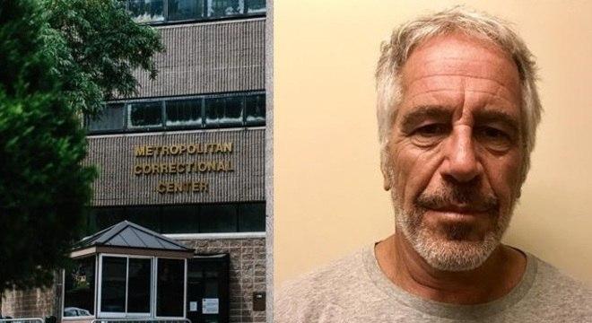 Epstein foi encontrado morto em cela de prisão federal em Nova York