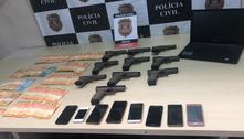 Polícia prende homem por tráfico de armas e apreende 10 pistolas