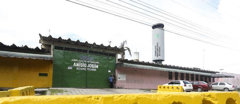 Complexo Penitenciário Anísio Jobim, na capital amazonense, que teve 15 mortos