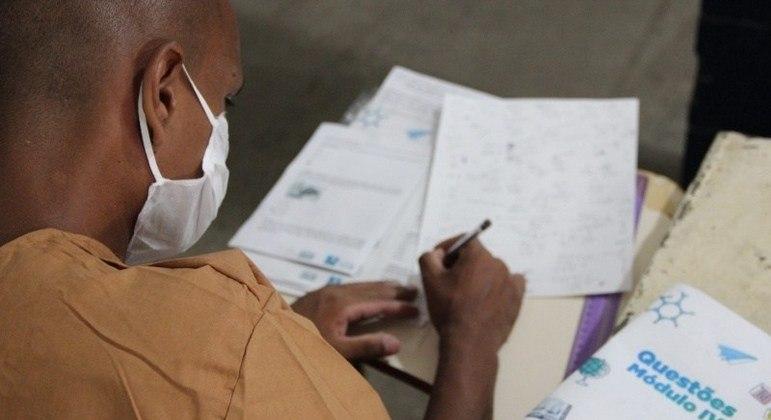 50 alunos fazem parte do programa de formação em nível superior no sistema prisional
