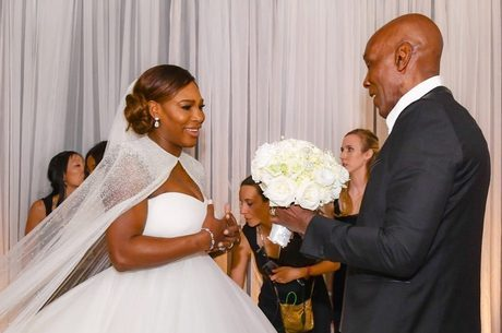 Preston Bailey decorou o casamento de Serena Williams