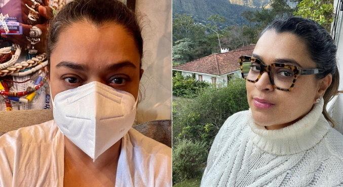 Preta Gil esclareceu dúvida de internautas sobre a vacina contra a covid-19