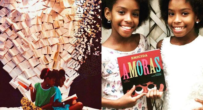Aos 11 anos, Helen e Eduarda Ferreira tem um canal no Youtube e eventos mensais