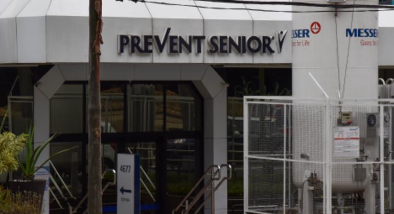 Hospital da Prevent Senior, na zona sul de São Paulo