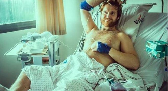 Danny Polaris está internado há duas semanas por conta de ereção persistente