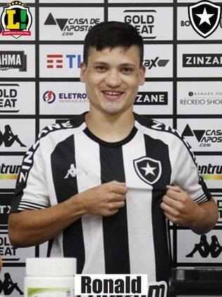 Primeira contratação confirmada para a temporada 2021, Ronald também alterna momentos entre titular e reserva. O atacante terminou a Taça Rio no onze inicial.