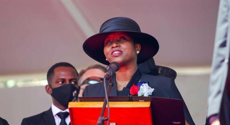 Primeira-dama Haiti Martine Moise