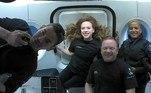 Os tripulantes da Inspiration4, a missão da SpaceX quelevou quatro civis à órbita da Terra na quarta-feira (15), divulgaram nesta sexta-feira(17) em seu perfil no Twitter as primeiras imagens tiradas na viagem espacial.Este é o primeiro voo orbital totalmente civil já realizado na história*Estagiária do R7 sob supervisão de Pablo Marques