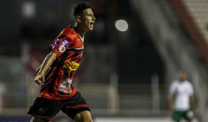 Primeiro contrato profissional - Em 4 de novembro de 2017, Martinelli assinou seu primeiro contrato profissional com o Ituano, até outubro de 2022. Sua multa não foi revelada na época, mas sabia-se que era um valor alto para os parâmetros de jovens da base.