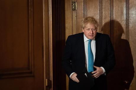 Boris Johnson está com coronavírus
