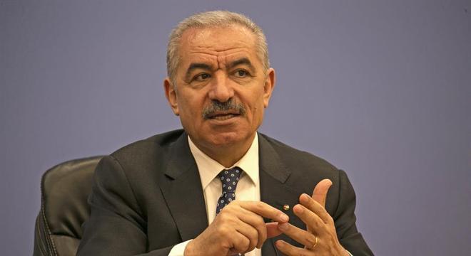 Primeiro-ministro da Palestina, Mohammad Shtayyeh lamentou o acordo