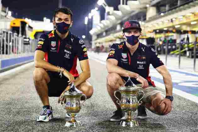 Primeiro pódio duplo da Red Bull desde o GP do Japão de 2017.
