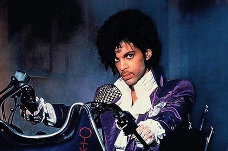 Prince na época da turnê do disco Purple Rain