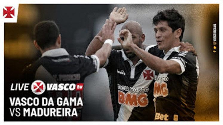 """Principal rival do Flamengo, o Vasco também cresceu muito em sua plataforma do Youtube nos últimos meses. A """"Vasco TV"""" somou 144 mil inscritos no período, seu maior crescimento histórico na plataforma de vídeos e que corresponde a mais de 90% de suas inscrições entre todas as plataformas. Com este resultado, a """"Vasco TV"""" registrou evolução de 28% no último mês. O Vasco registrou segunda maior evolução geral no ranking."""