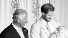 Príncipe Charles parabeniza Archie e falta de Meghan chama atenção