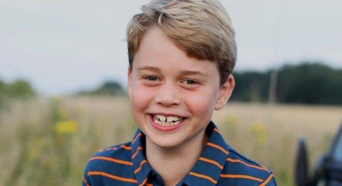 Príncipe George completa 8 anos nesta quinta (22)