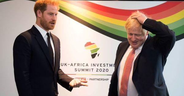 Príncipe Harry se encontra com líderes africanos em Londres