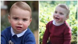 Família Real Britânica divulga fotos inéditas do príncipe Louis, filho de William e Kate (Reprodução/Instagram)