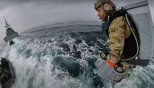 Empresa privada testa traje voador com a Marinha britânica. Veja vídeo