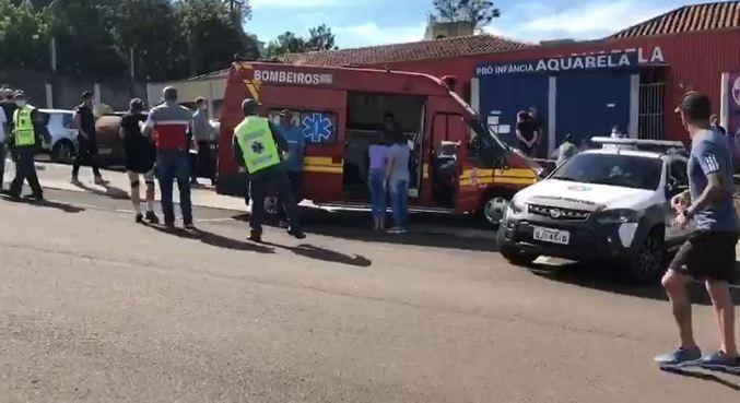 Cinco pessoas morreram no ataque; bebê de 1,8 ano e autor estão hospitalizados
