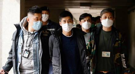 Ativistas de oposição foram presos em Hong Kong