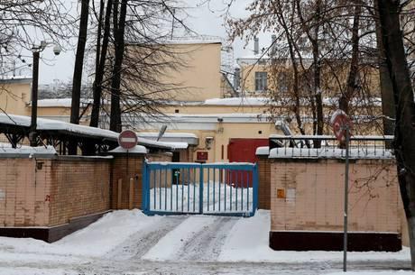 Whelan está na prisão temporária de Lefortovo