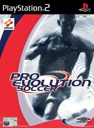 Pro Evolution Soccer 1, PES, lançado em 2001
