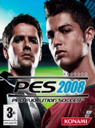 Pro Evolution Soccer 2008, PES, lançado em 2007