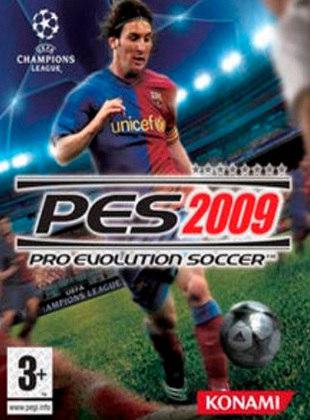 Pro Evolution Soccer 2009, PES, lançado em 2008