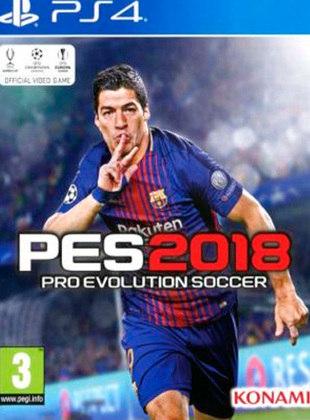 Pro Evolution Soccer 2018, PES, lançado em 2017