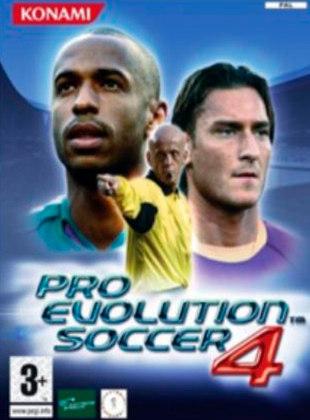 Pro Evolution Soccer 4, PES, lançado em 2004