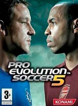 Pro Evolution Soccer 5, PES, lançado em 2005