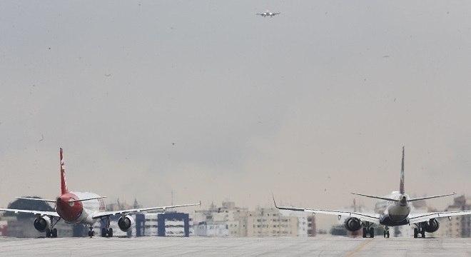 Operação dos aviões foi afetada por problema em radar